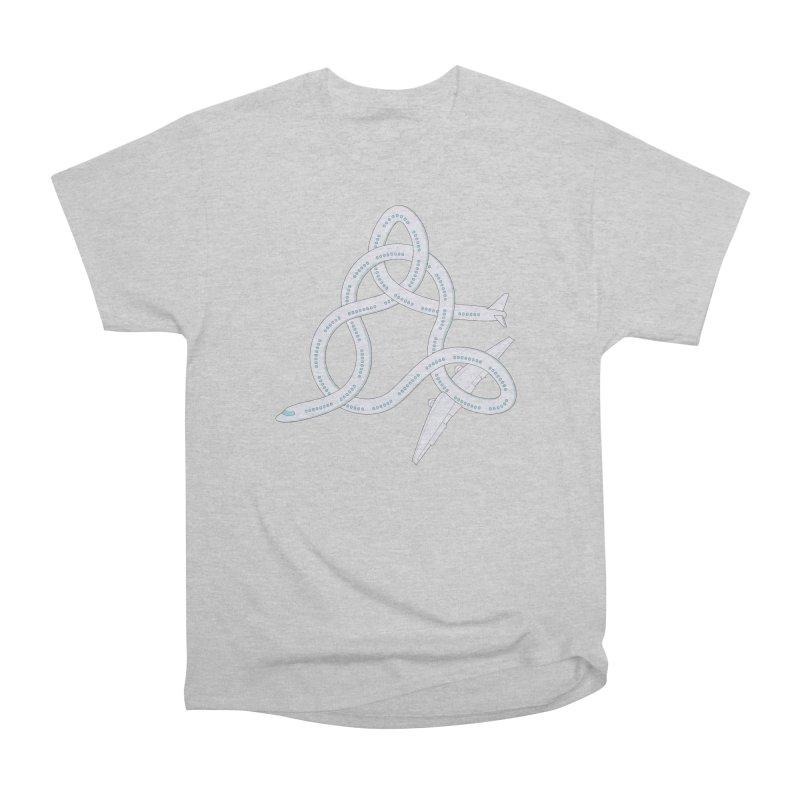 Airplane! Women's Heavyweight Unisex T-Shirt by Cumulo 7