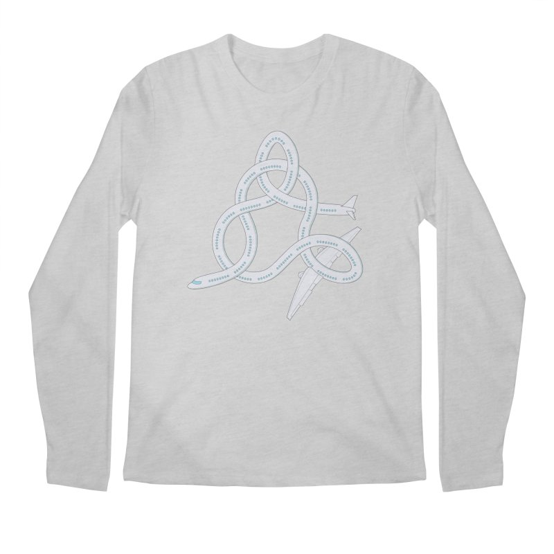 Airplane! Men's Regular Longsleeve T-Shirt by Cumulo 7
