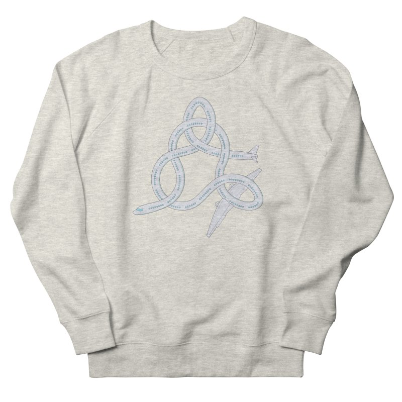 Airplane! Women's French Terry Sweatshirt by Cumulo 7