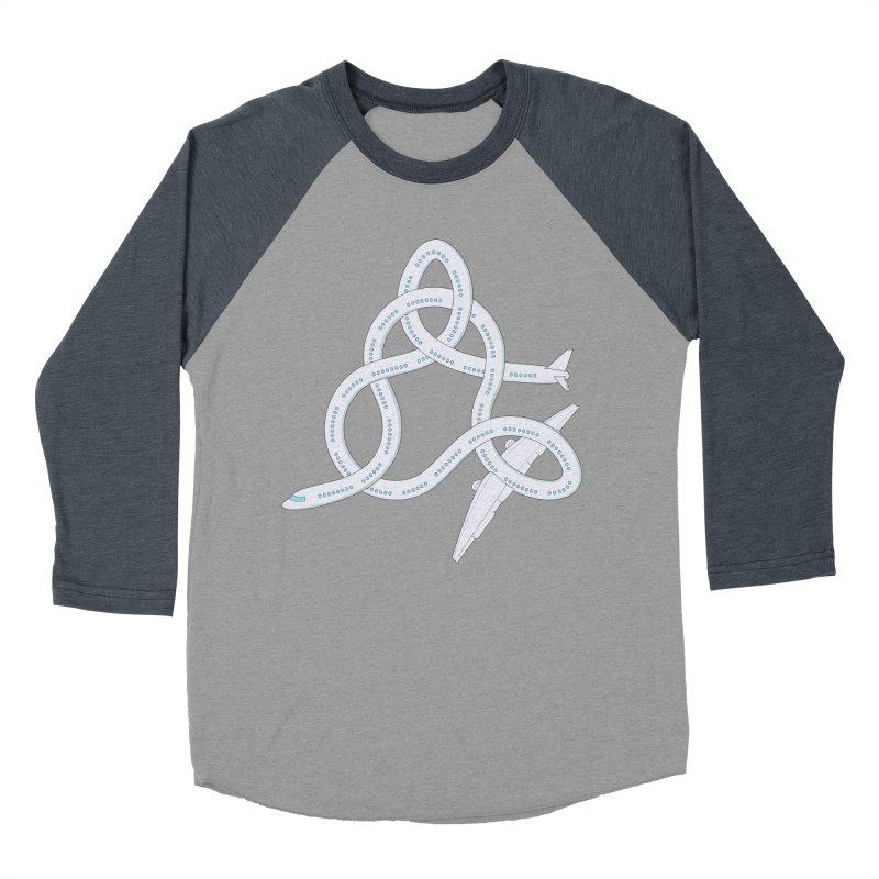 Airplane! Women's Baseball Triblend Longsleeve T-Shirt by Cumulo 7