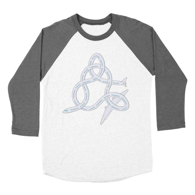 Airplane! Men's Baseball Triblend T-Shirt by cumulo7's Artist Shop