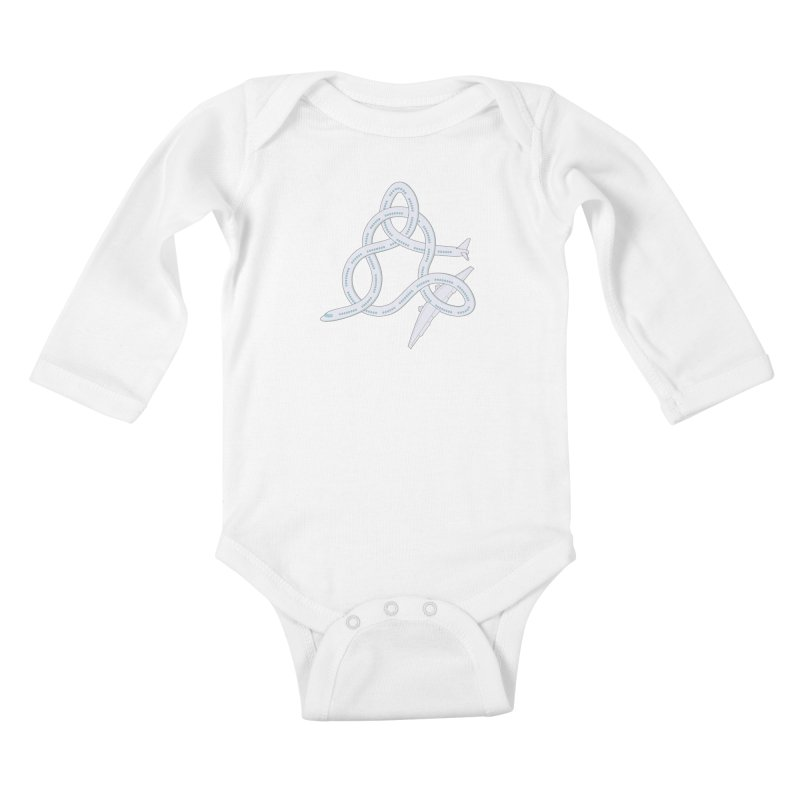 Airplane! Kids Baby Longsleeve Bodysuit by cumulo7's Artist Shop