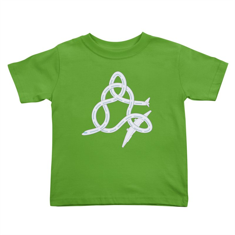 Airplane! Kids Toddler T-Shirt by Cumulo 7