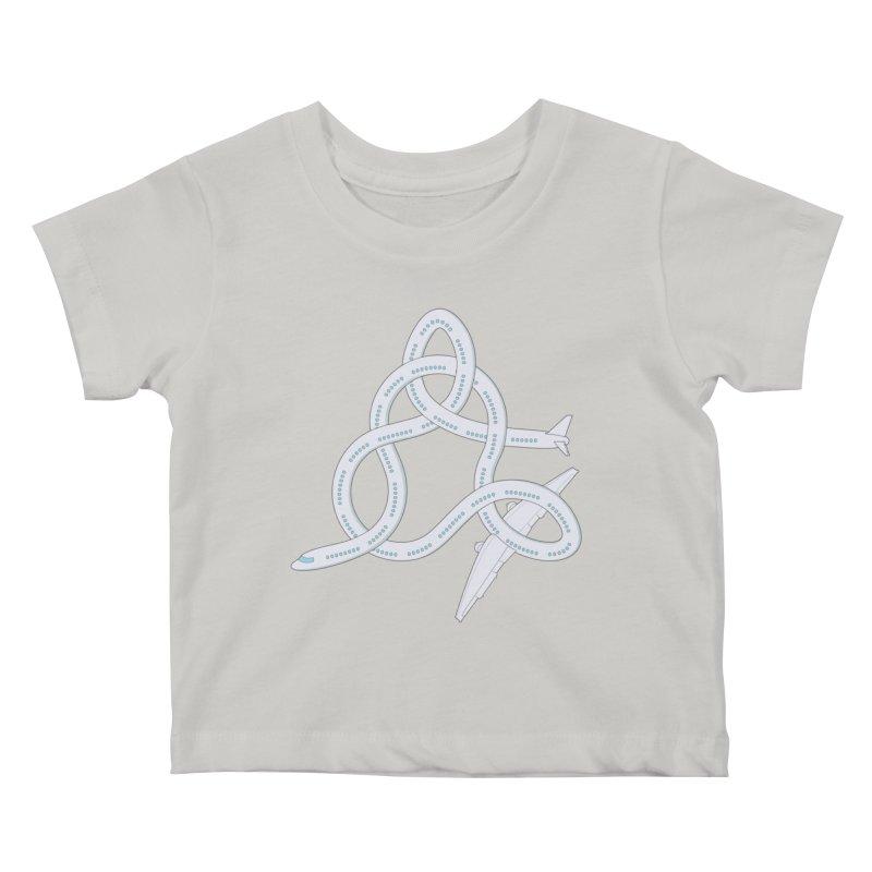 Airplane! Kids Baby T-Shirt by cumulo7's Artist Shop