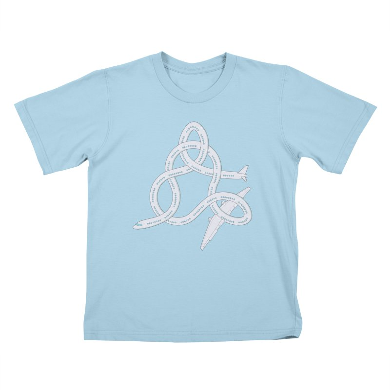 Airplane! Kids T-Shirt by cumulo7's Artist Shop