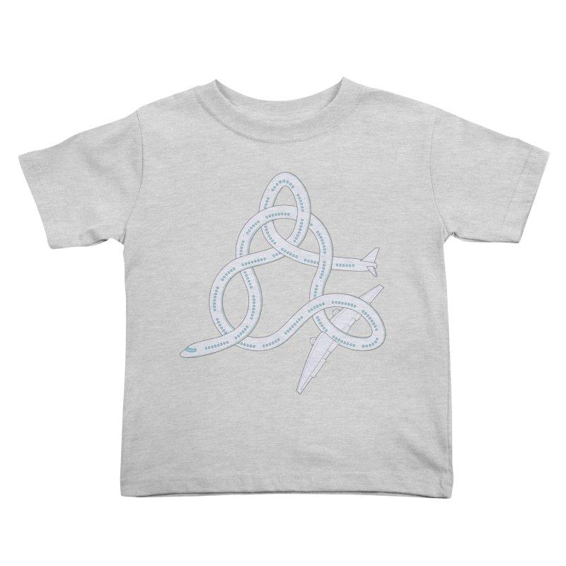 Airplane! Kids Toddler T-Shirt by cumulo7's Artist Shop