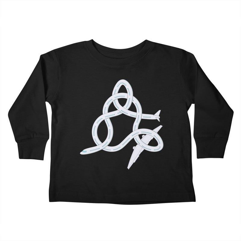 Airplane! Kids Toddler Longsleeve T-Shirt by Cumulo 7