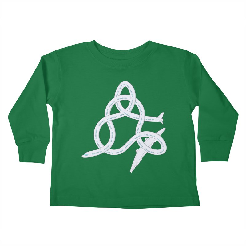 Airplane! Kids Toddler Longsleeve T-Shirt by cumulo7's Artist Shop