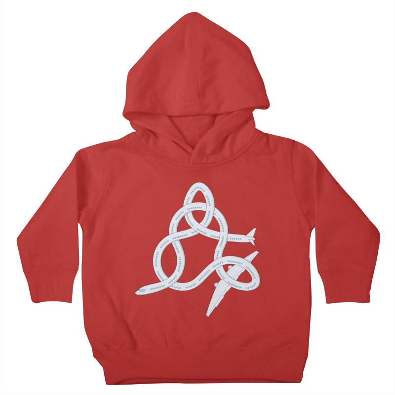 Airplane! Kids Toddler Pullover Hoody by cumulo7's Artist Shop