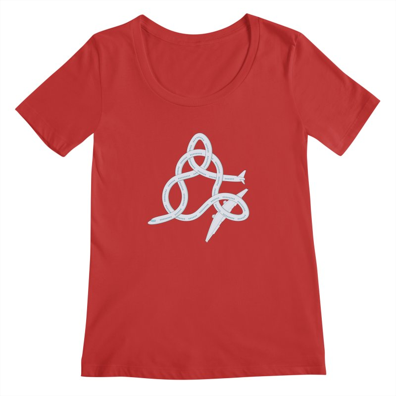 Airplane! Women's Scoopneck by cumulo7's Artist Shop