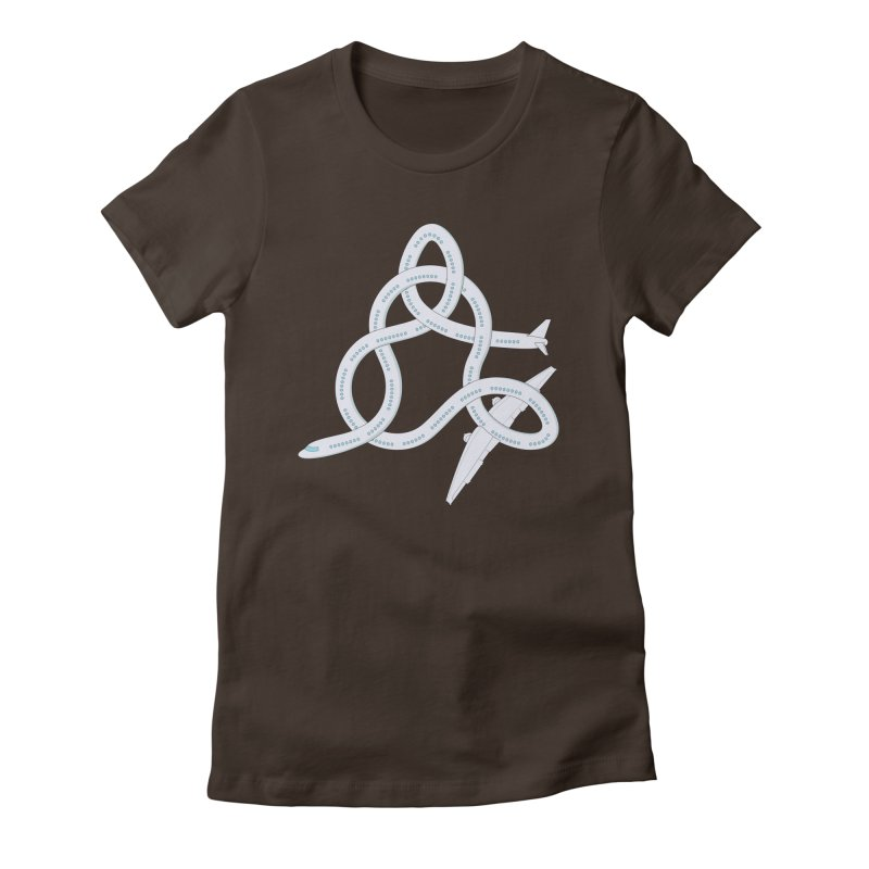 Airplane! Women's Fitted T-Shirt by cumulo7's Artist Shop