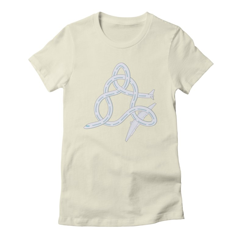 Airplane! Women's Fitted T-Shirt by Cumulo 7