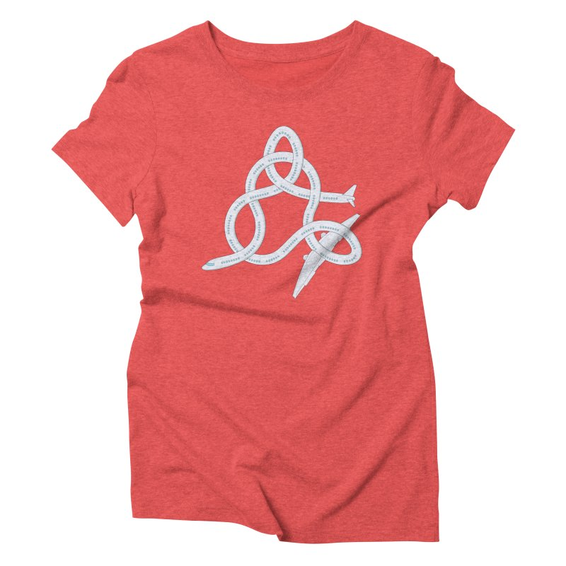 Airplane! Women's Triblend T-shirt by cumulo7's Artist Shop