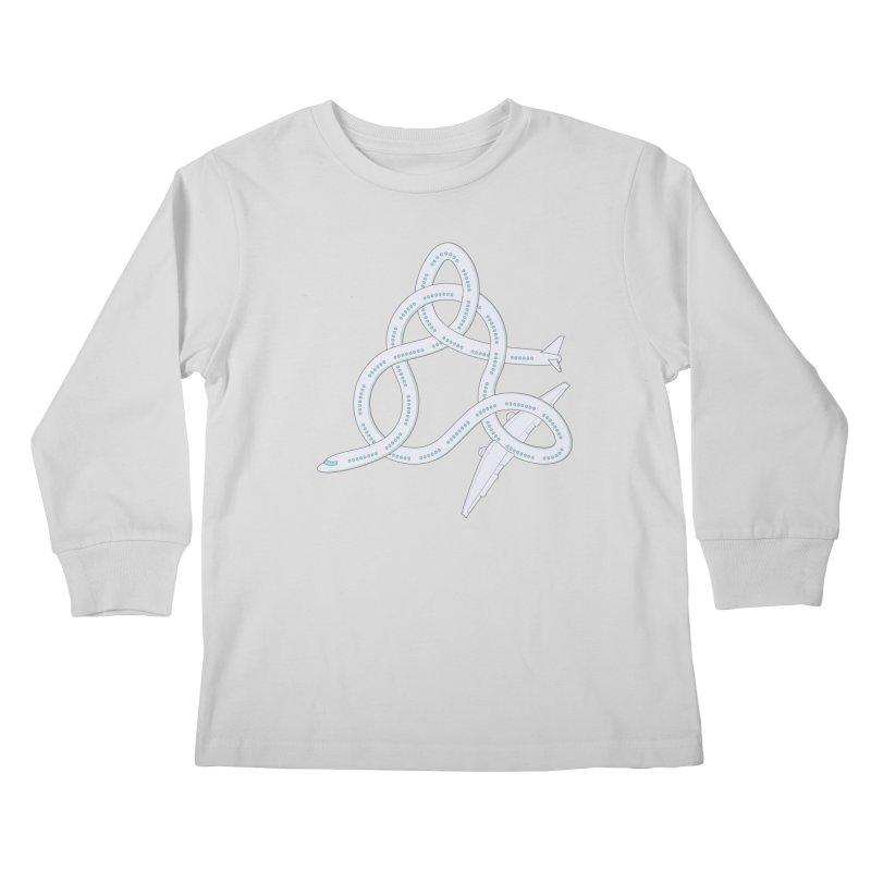 Airplane! Kids Longsleeve T-Shirt by cumulo7's Artist Shop