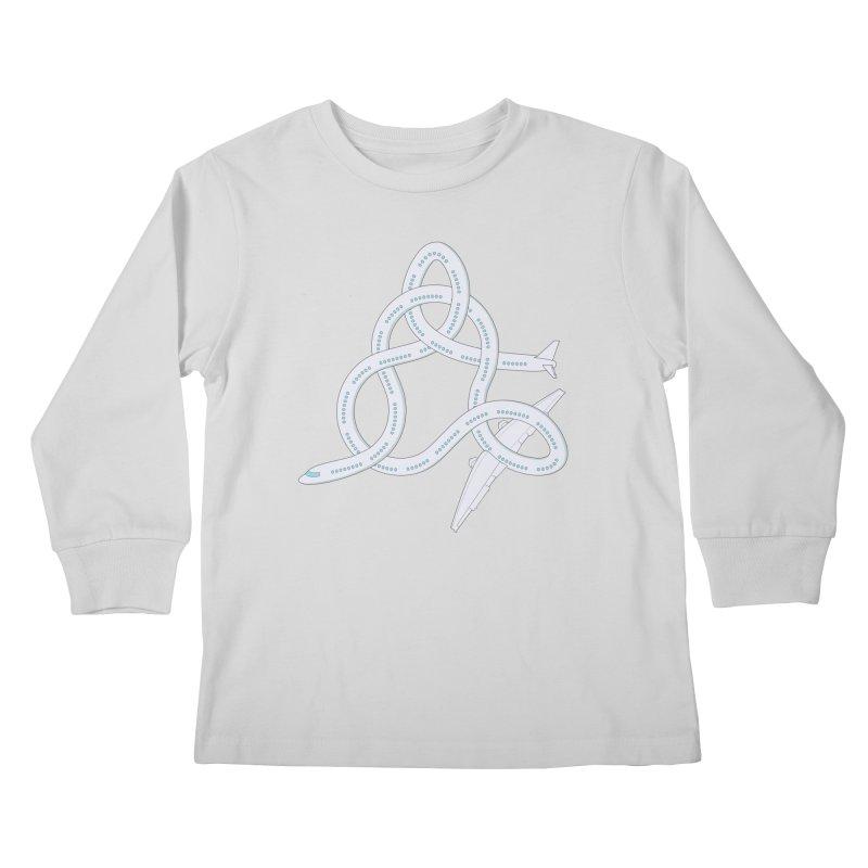 Airplane! Kids Longsleeve T-Shirt by Cumulo 7