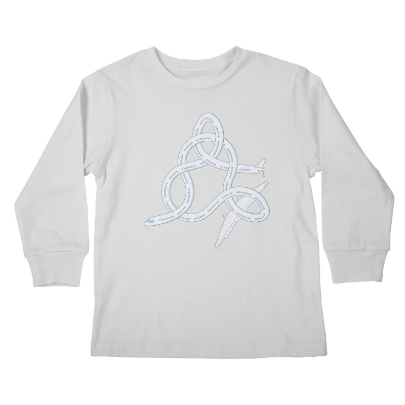 Airplane! Kids Longsleeve T-Shirt by cumulo7's Artist Shop