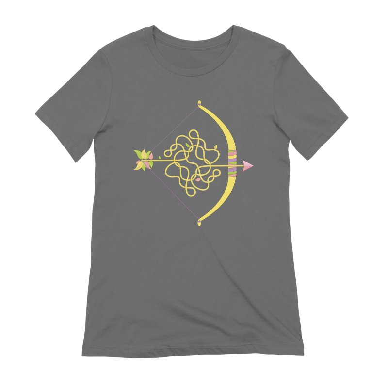 Knotted Arrow Women's Extra Soft T-Shirt by cumulo7's Artist Shop