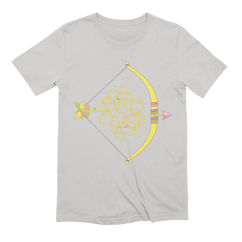 Knotted Arrow Men's Extra Soft T-Shirt by cumulo7's Artist Shop