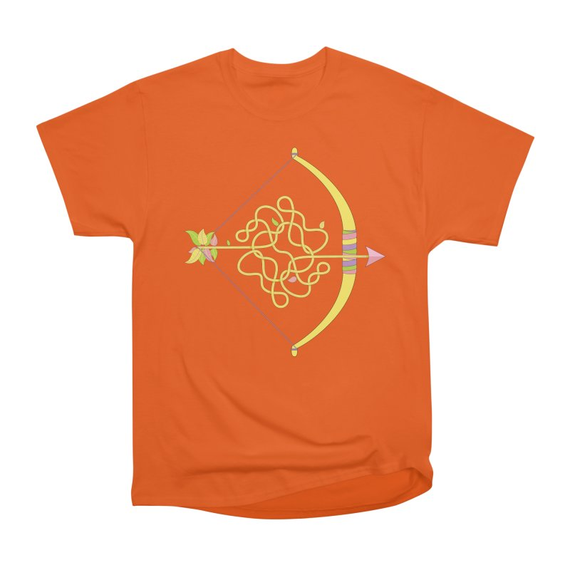Knotted Arrow Men's T-Shirt by Cumulo 7