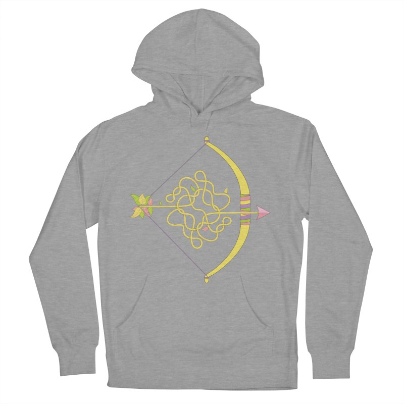 Knotted Arrow Women's French Terry Pullover Hoody by Cumulo 7