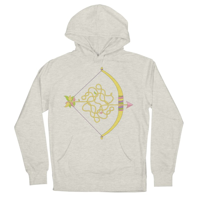 Knotted Arrow Women's Pullover Hoody by cumulo7's Artist Shop