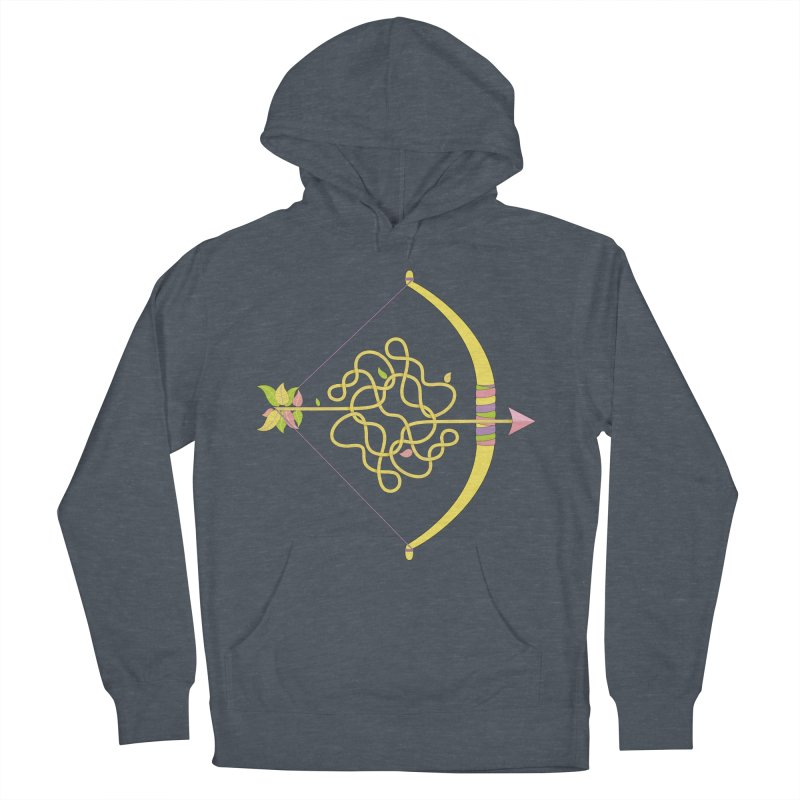 Knotted Arrow Men's Pullover Hoody by cumulo7's Artist Shop