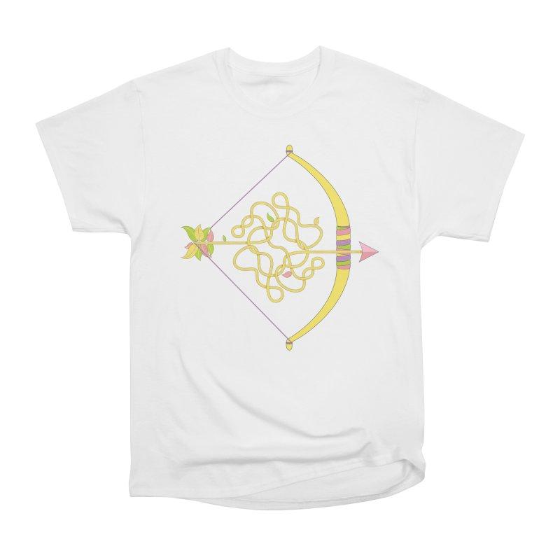 Knotted Arrow Men's Heavyweight T-Shirt by cumulo7's Artist Shop