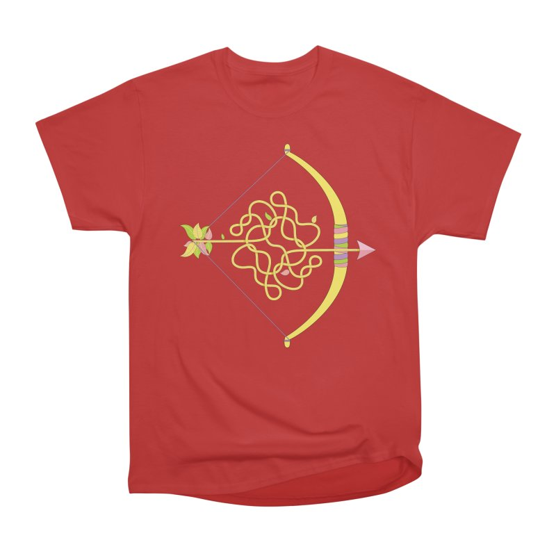 Knotted Arrow Women's Heavyweight Unisex T-Shirt by Cumulo 7