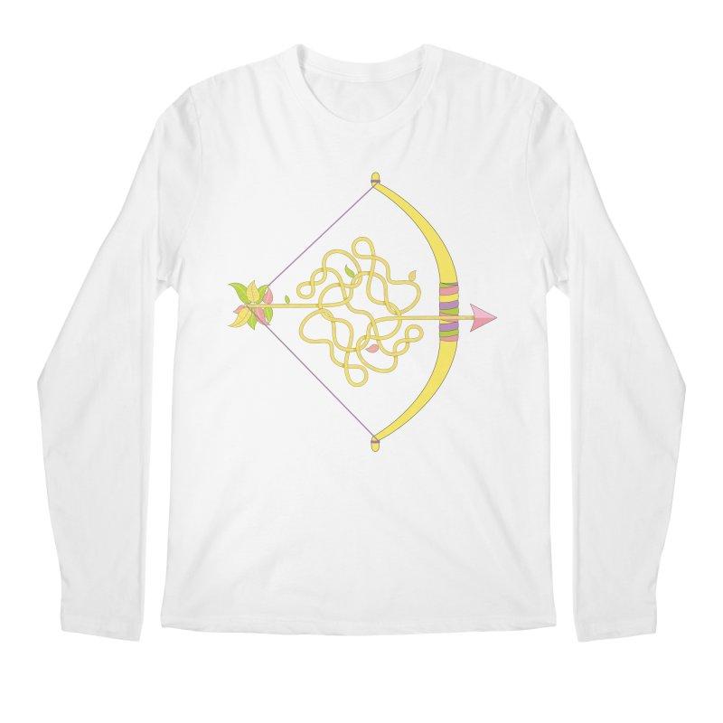 Knotted Arrow Men's Regular Longsleeve T-Shirt by Cumulo 7