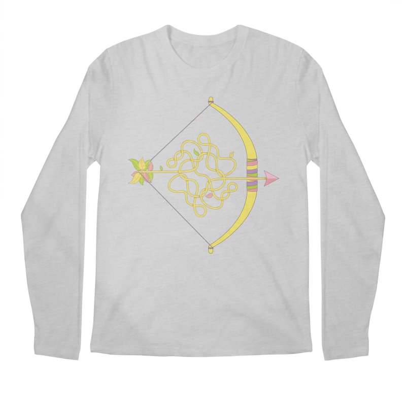 Knotted Arrow Men's Longsleeve T-Shirt by cumulo7's Artist Shop