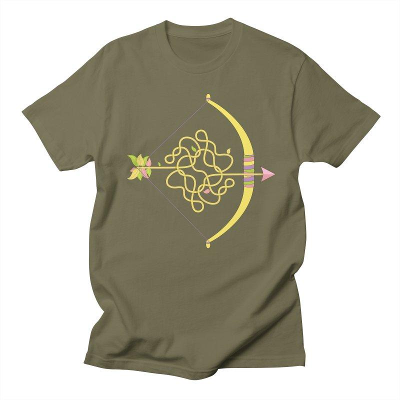 Knotted Arrow Men's Regular T-Shirt by cumulo7's Artist Shop