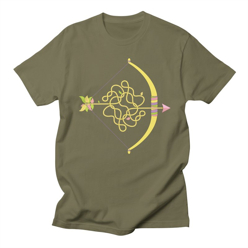 Knotted Arrow Women's Regular Unisex T-Shirt by Cumulo 7
