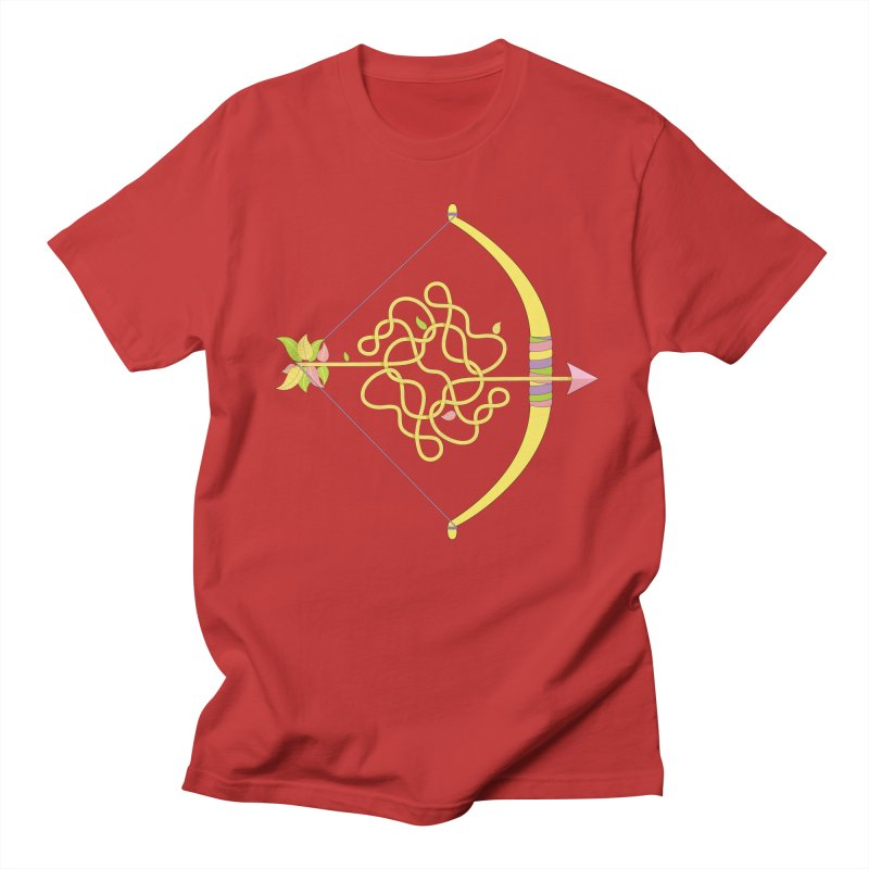 Knotted Arrow Women's Unisex T-Shirt by cumulo7's Artist Shop