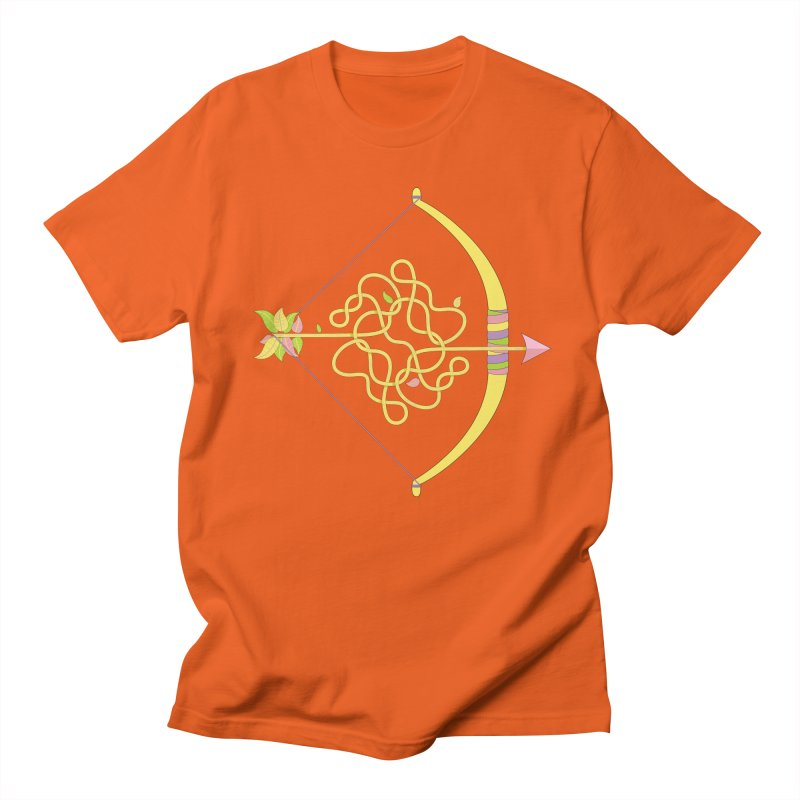 Knotted Arrow Women's Unisex T-Shirt by cumulo7's Artist Shop