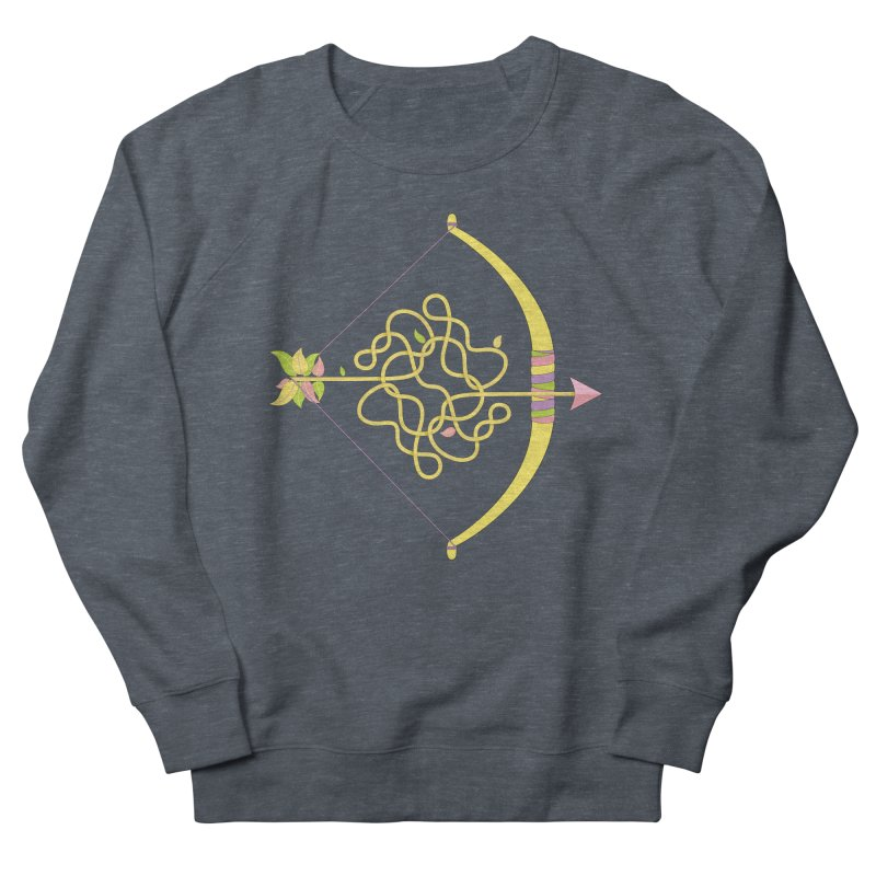 Knotted Arrow Men's Sweatshirt by cumulo7's Artist Shop