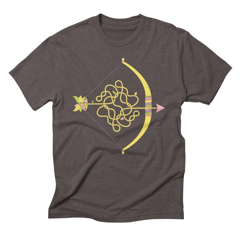 Knotted Arrow Men's Triblend T-Shirt by cumulo7's Artist Shop