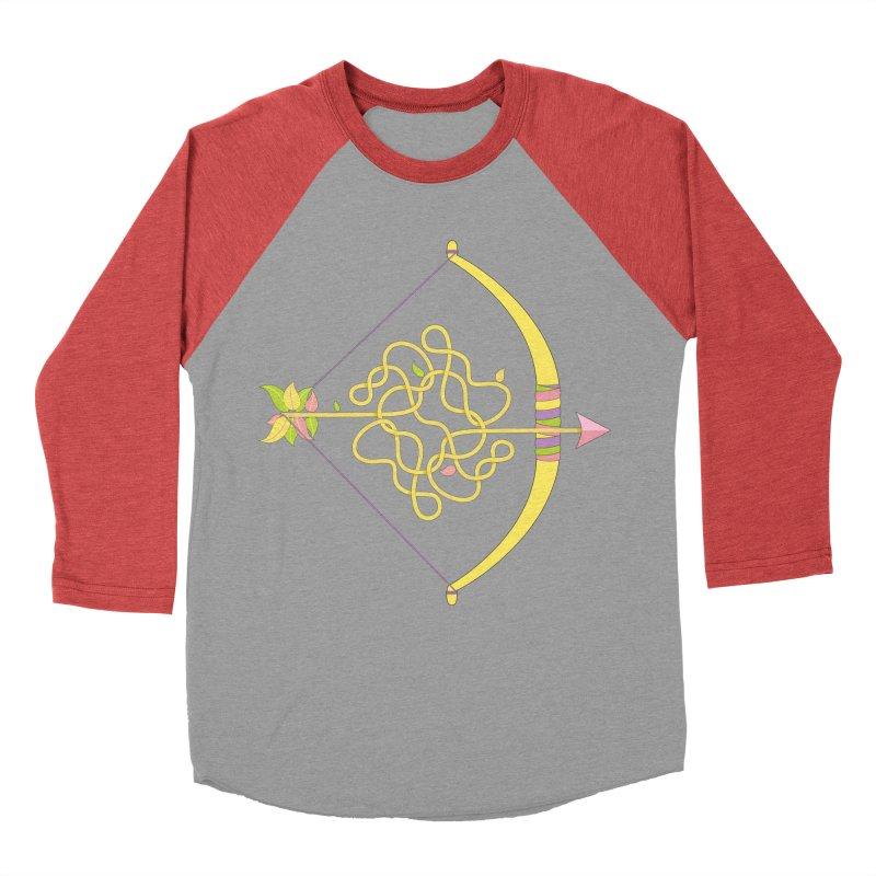 Knotted Arrow Men's Baseball Triblend T-Shirt by cumulo7's Artist Shop