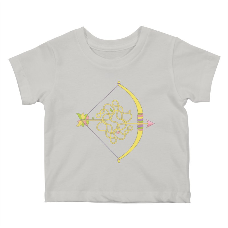 Knotted Arrow Kids Baby T-Shirt by cumulo7's Artist Shop