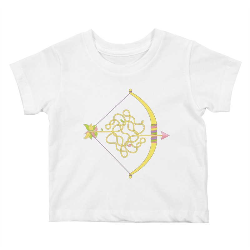 Knotted Arrow Kids Baby T-Shirt by Cumulo 7