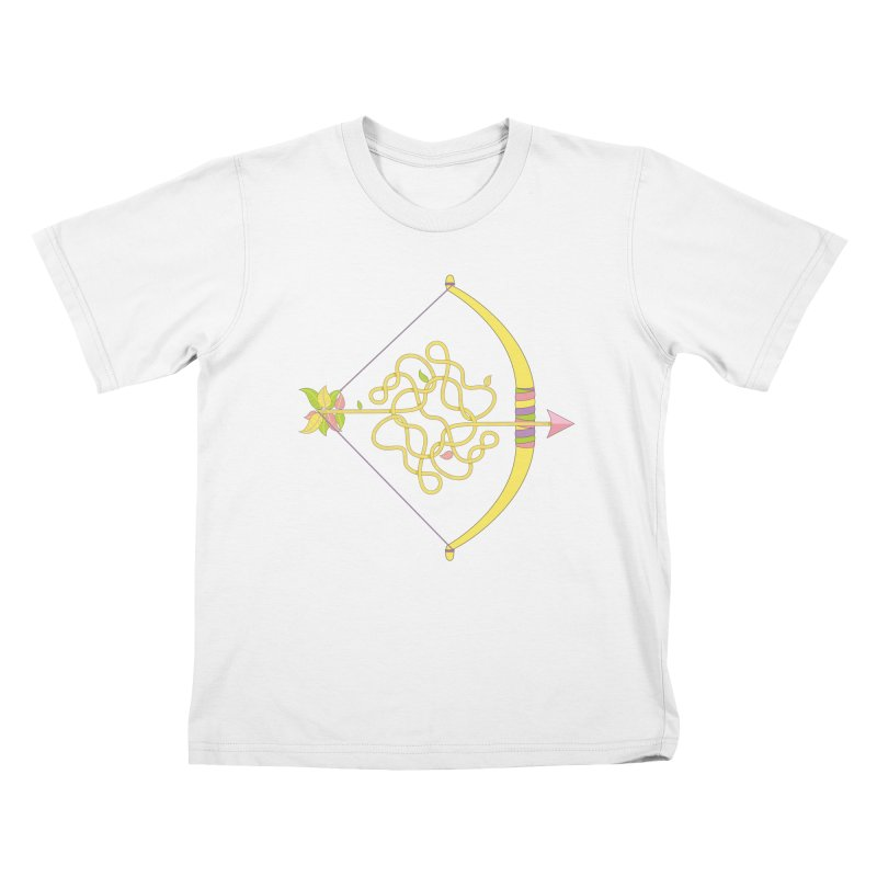 Knotted Arrow Kids T-Shirt by cumulo7's Artist Shop