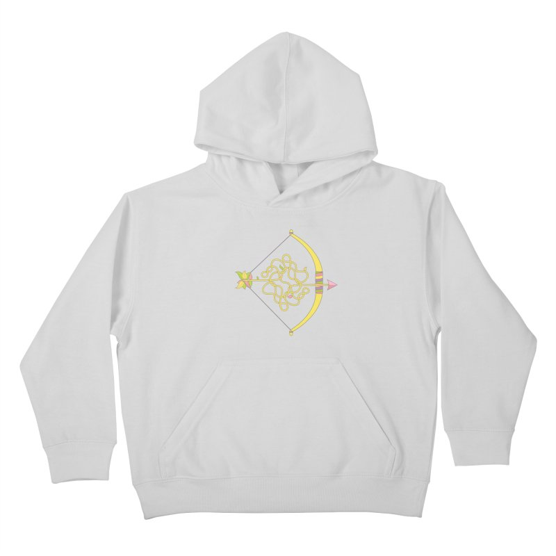 Knotted Arrow Kids Pullover Hoody by cumulo7's Artist Shop