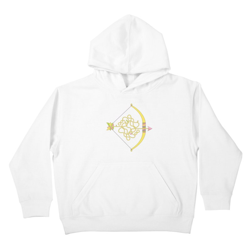 Knotted Arrow Kids Pullover Hoody by Cumulo 7