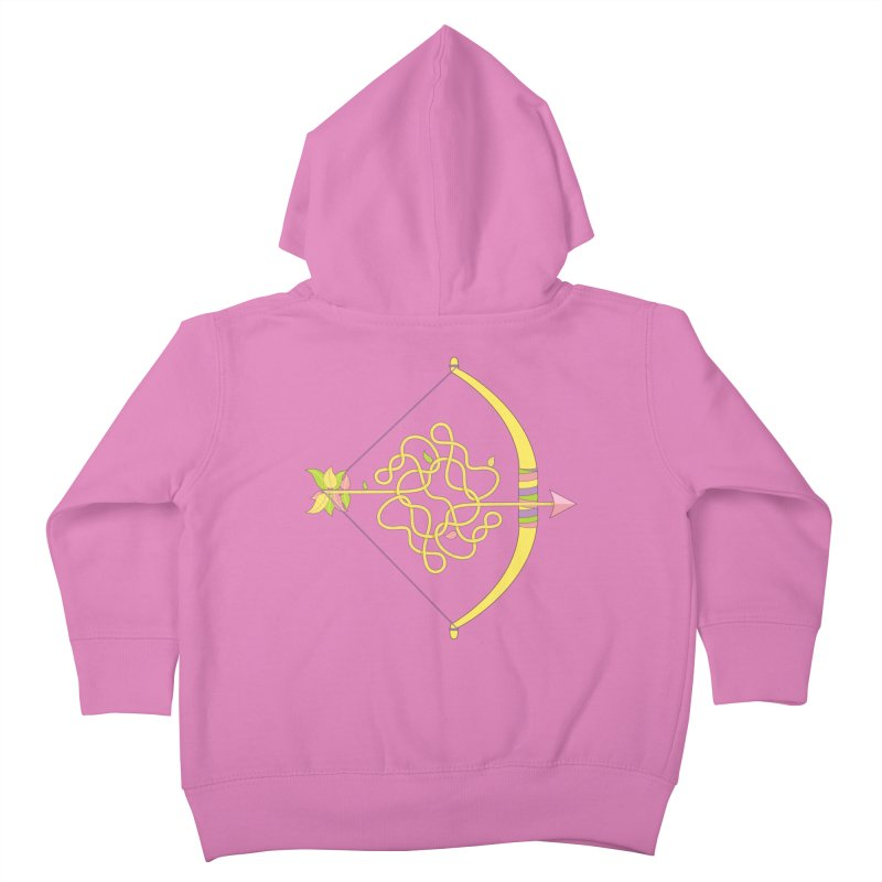 Knotted Arrow Kids Toddler Zip-Up Hoody by Cumulo 7