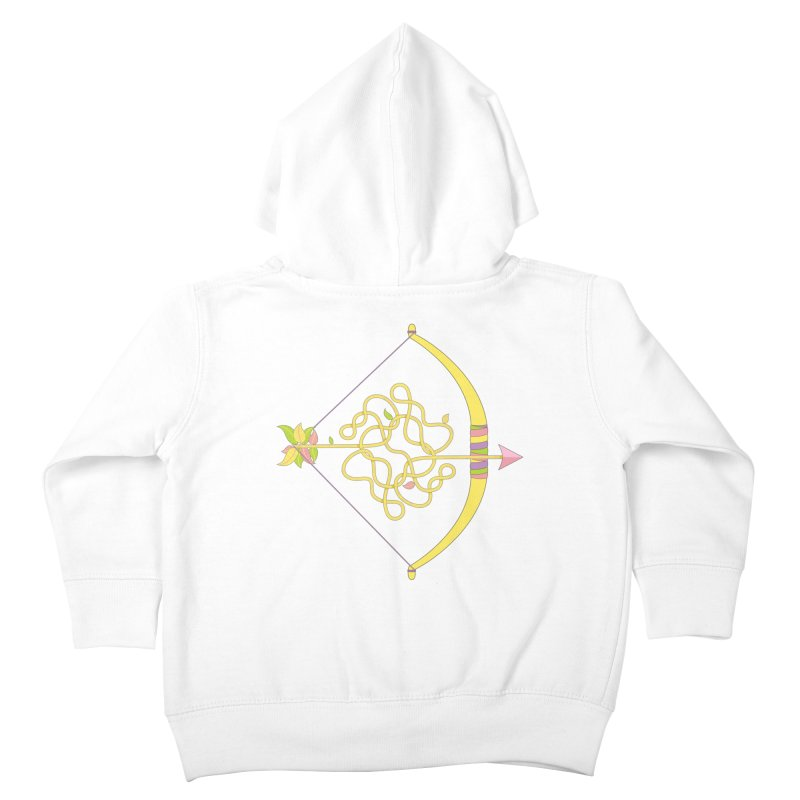 Knotted Arrow Kids Toddler Zip-Up Hoody by cumulo7's Artist Shop