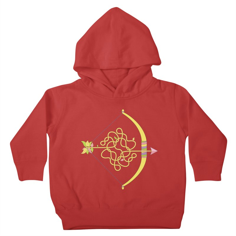 Knotted Arrow Kids Toddler Pullover Hoody by cumulo7's Artist Shop