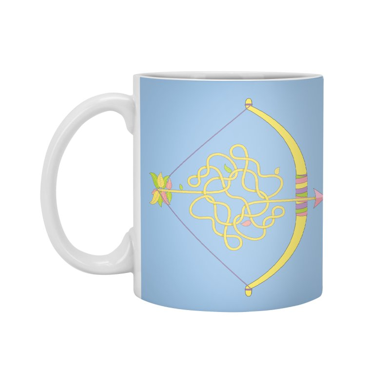 Knotted Arrow Accessories Standard Mug by Cumulo 7