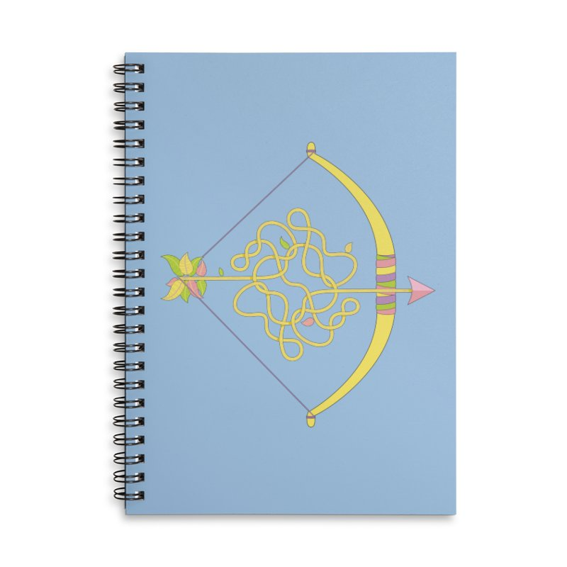 Knotted Arrow Accessories Notebook by Cumulo 7
