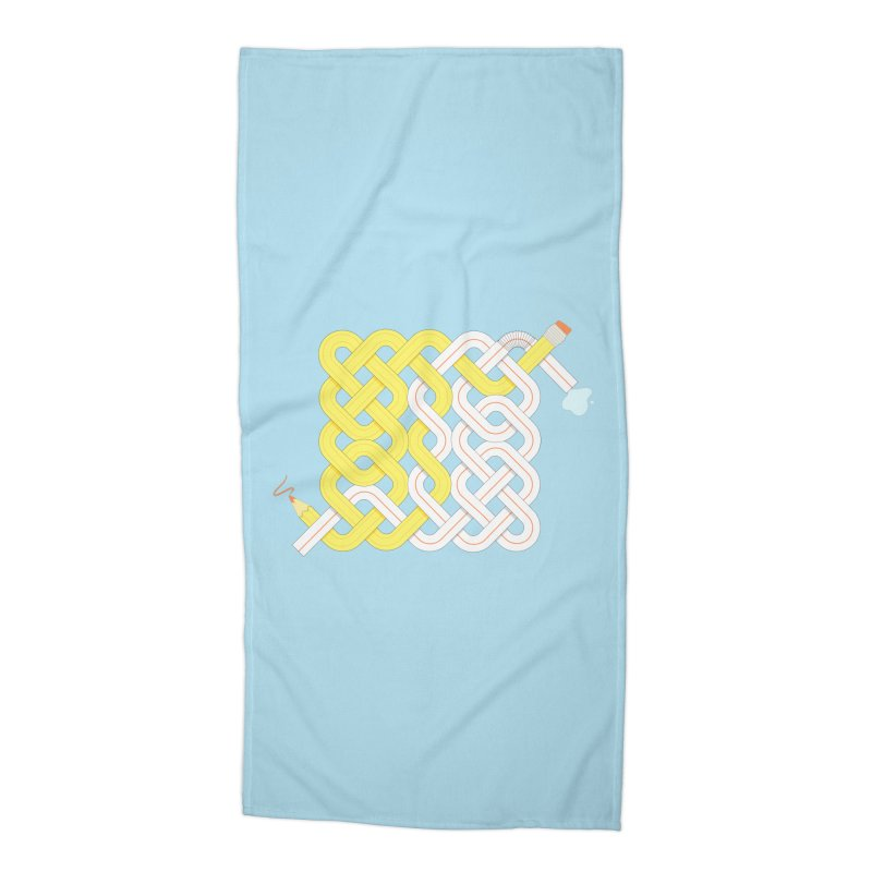 Exstrawdinary Drawing. Accessories Beach Towel by cumulo7's Artist Shop