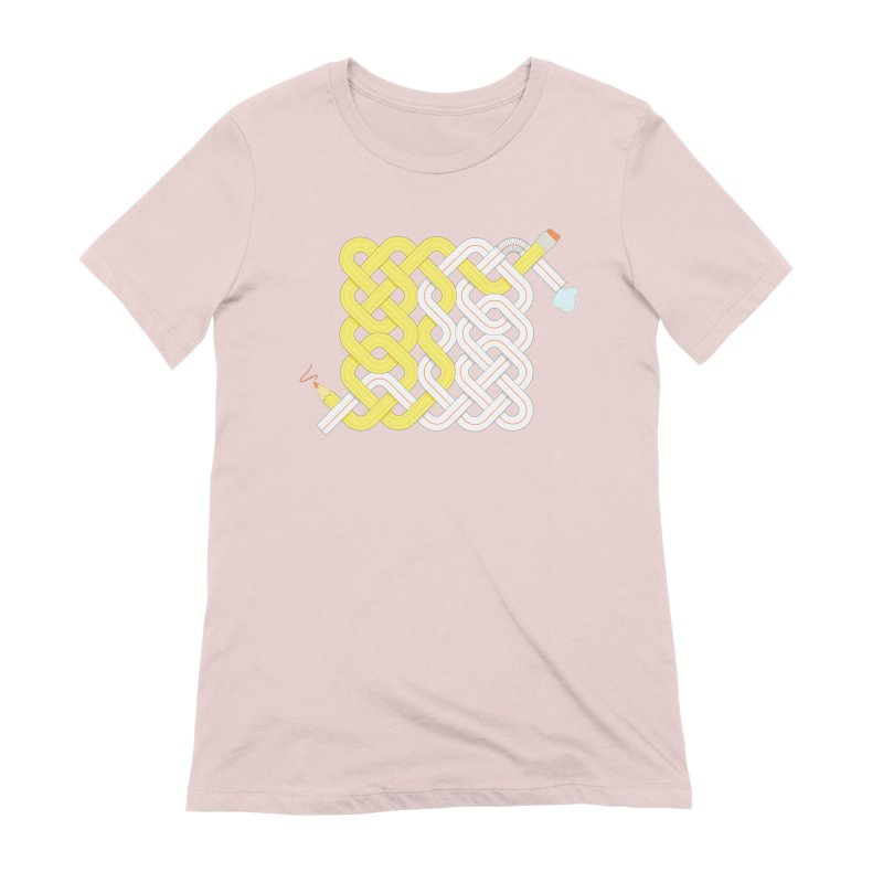 Exstrawdinary Drawing. Women's Extra Soft T-Shirt by cumulo7's Artist Shop