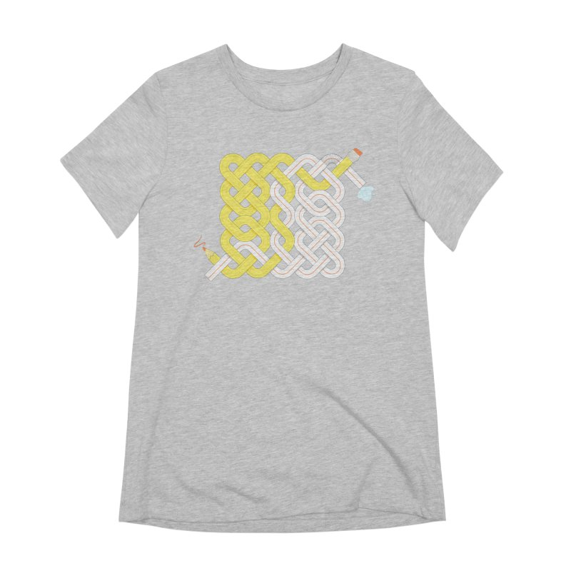 Exstrawdinary Drawing. Women's Extra Soft T-Shirt by Cumulo 7
